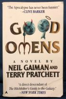 "Cover of ""Good Omens"" by Neil Gaiman and Terry Pratchett"
