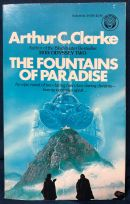 "Cover of ""The Fountains of Paradise"" by Arthur C. Clarke"